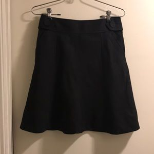 H&M black skirt with pockets size 4